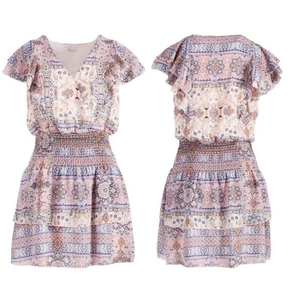 Parker Flutter Sleeve Dress